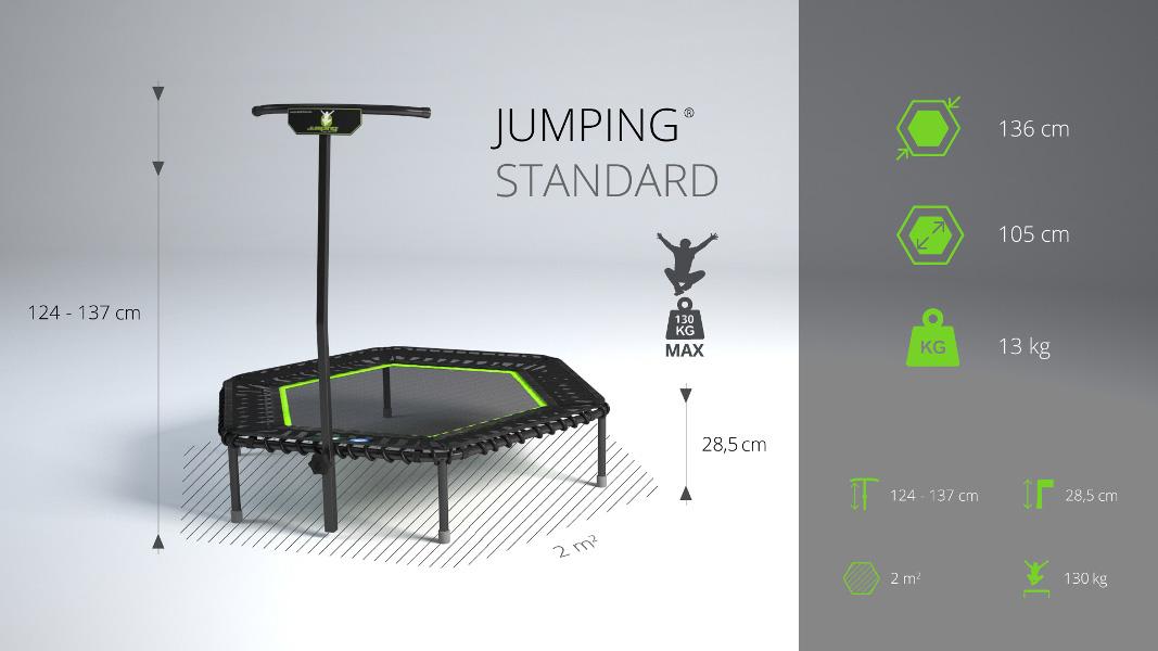 Jumping® Profi STANDARD Trampoline
