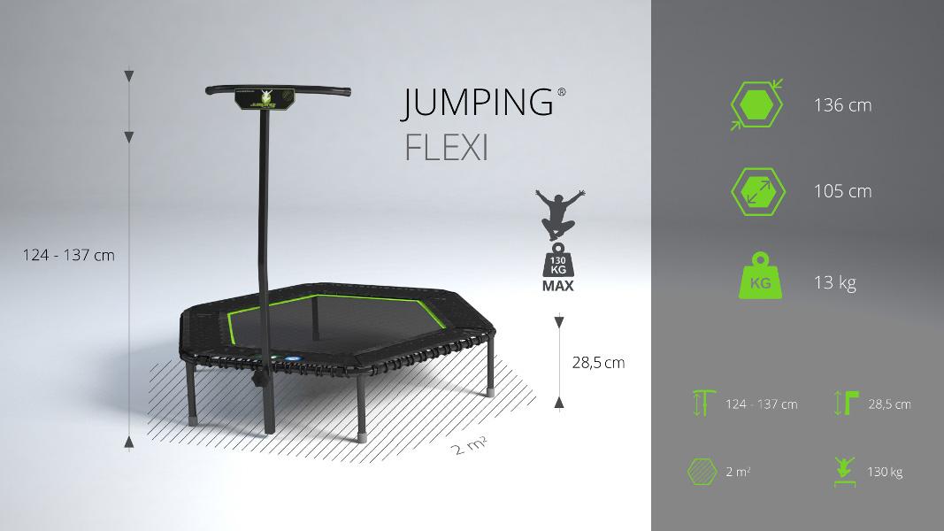 Jumping® Profi FLEXI Trampoline