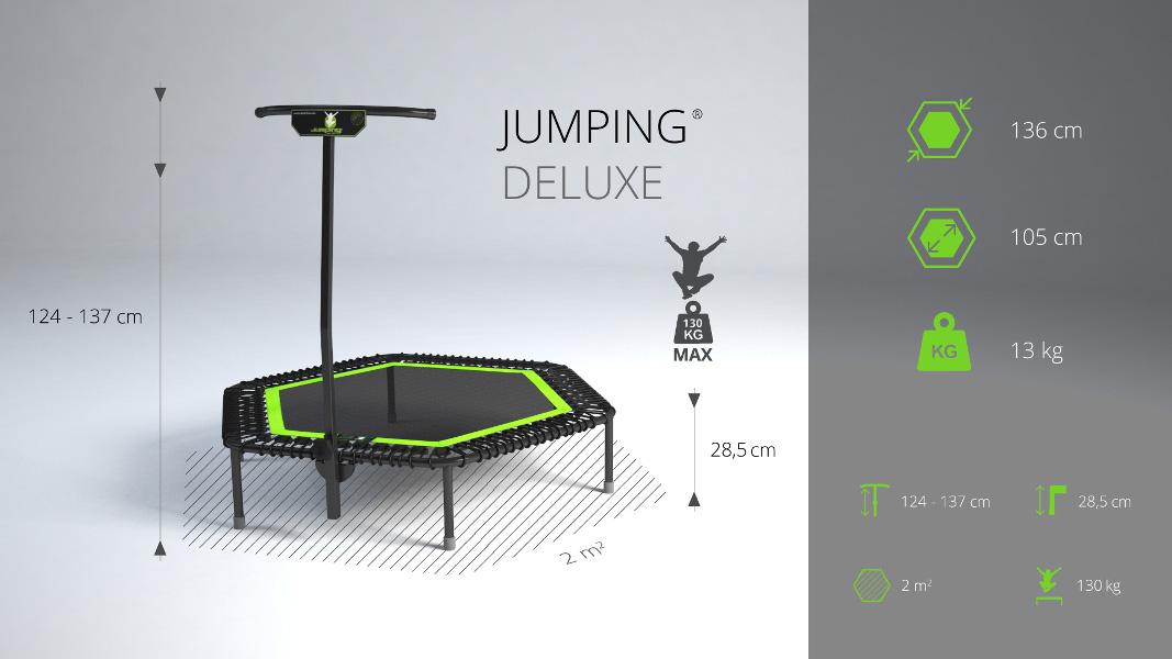 Jumping® Profi DELUXE Trampoline