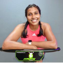 Jumping Fitness Instructor Nisha L