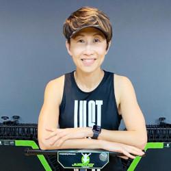 Jumping Fitness Instructor Serene Loh